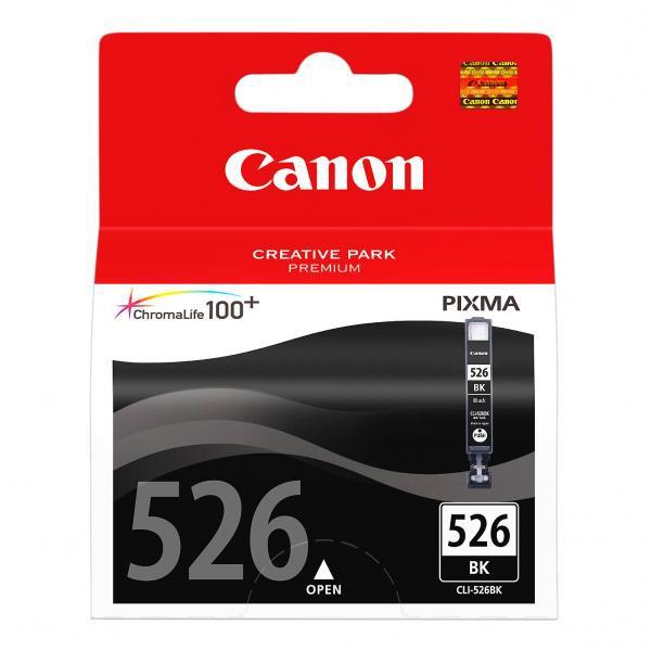 Canon originální ink blistr s ochranou, CLI526BK, black, 9ml, 4540B006, Canon Pixma MG5150, MG5250, MG6150, MG8150