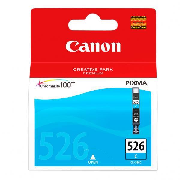 Canon originální ink blistr s ochranou, CLI526C, cyan, 9ml, 4541B010, 4541B004, Canon Pixma MG5150, MG5250, MG6150, MG8150