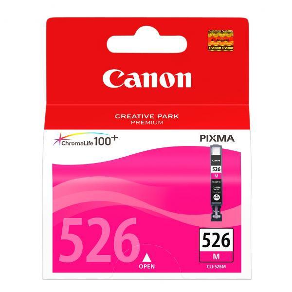 Canon originální ink CLI526M, magenta, 9ml, 4542B001, Canon Pixma MG5150, MG5250, MG6150, MG8150