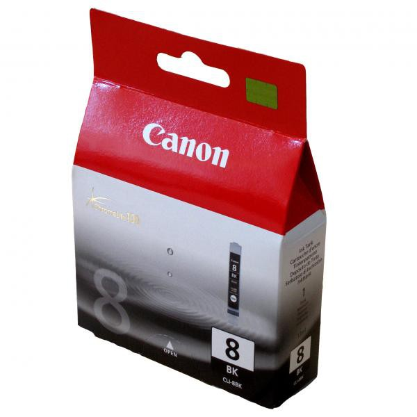 Canon originální ink blistr s ochranou, CLI8BK, black, 940str., 13ml, 0620B029, 0620B006, Canon iP4200, iP5200, iP5200R, MP500, MP