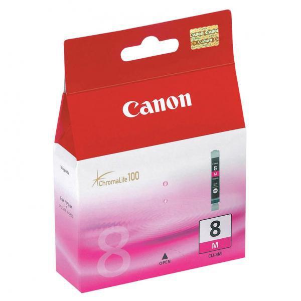 Canon originální ink blistr s ochranou, CLI8M, magenta, 420str., 13ml, 0622B026, 0622B006, Canon iP4200, iP5200, iP5200R, MP500, M