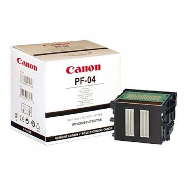 Canon PF-04 BK - originální tisková hlava, černá