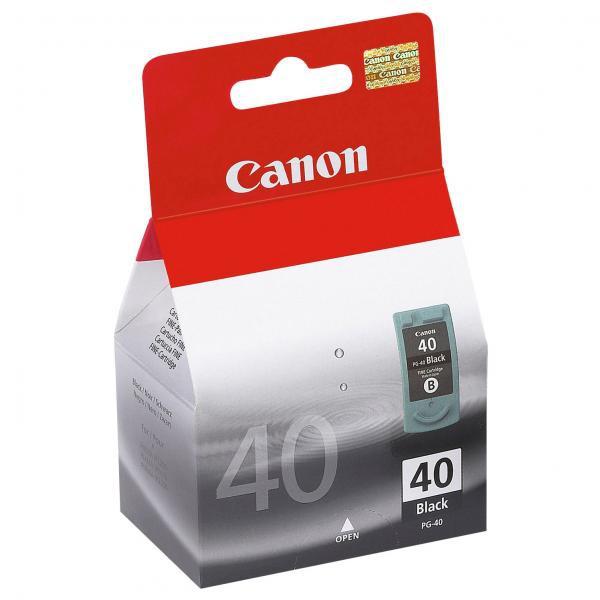 Canon originální ink blistr s ochranou, PG40, black, 490str., 16ml, 0615B042, 0615B006, Canon iP1600, 2200, MP150, 170, 450