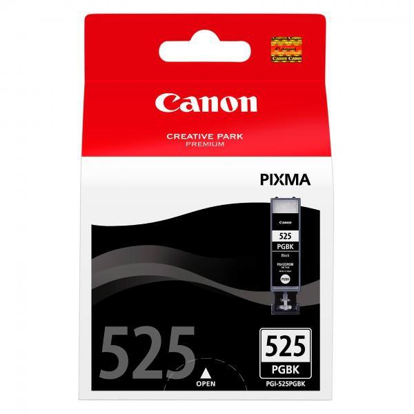 Canon originální ink blistr s ochranou, PGI525PGBK, black, 4529B008, 4529B004, Canon Pixma MG5150, 5250, 6150, 8150