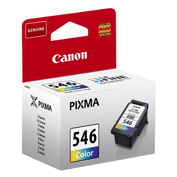 Canon originální ink blistr, CL-546, colour, 180str., 8ml, 8289B004, Canon Pixma MG2250,2450,2550