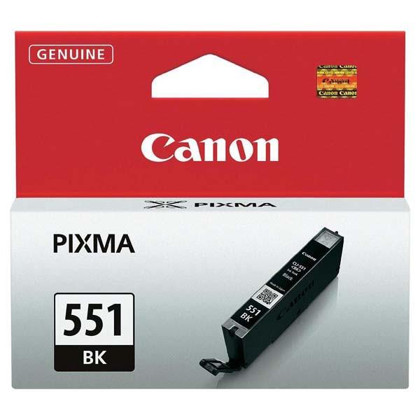 Canon originální ink CLI551BK, black, 7ml, 6508B001, Canon PIXMA iP7250, MG5450, MG6350, MG7550
