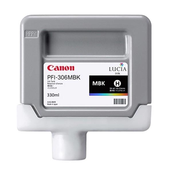 Canon originální ink PFI306MBK, matte black, 330ml, 6656B001, Canon iPF-8300