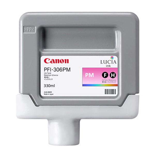 Canon originální ink PFI306PM, photo magenta, 330ml, 6662B001, Canon iPF-8300, 8400, 9400