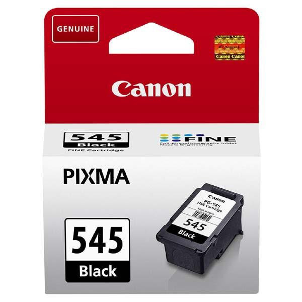 Canon originální ink PG-545, black, 180str., 8287B001, Canon Pixma MG2450, 2550, TS 3151