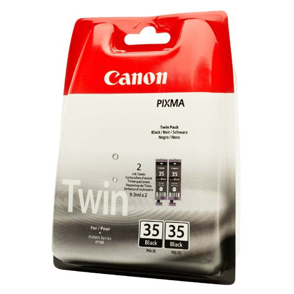 Canon originální ink PGI35BK, black, 2x191str., 1509B012, 2ks, Canon Pixma iP100