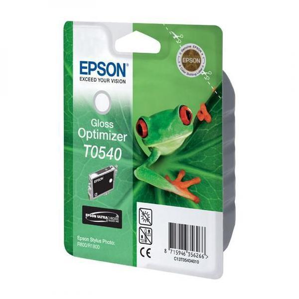 Epson originální ink C13T054040, glossy optimizer, 400str., 13ml, Epson Stylus Photo R800, R1800