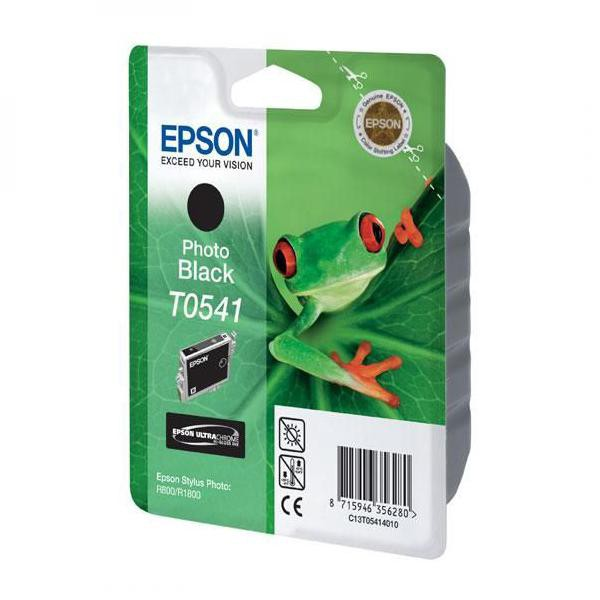 Epson originální ink C13T054140, photo black, 550str., 13ml, Epson Stylus Photo R800, R1800
