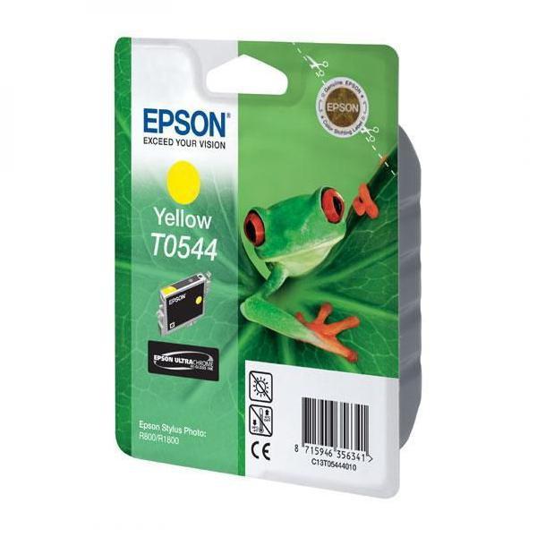 Epson originální ink C13T054440, yellow, 400str., 13ml, Epson Stylus Photo R800, R1800