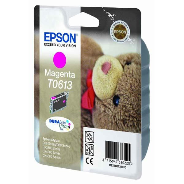 Epson originální ink C13T06134010, magenta, 250str., 8ml, Epson Stylus D68PE, 88, DX3850, 4200, 4250, 4850