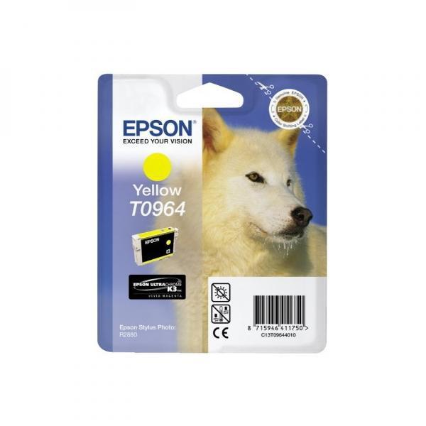 Epson originální ink C13T09644010, yellow, 13ml, Epson Stylus Photo R2880