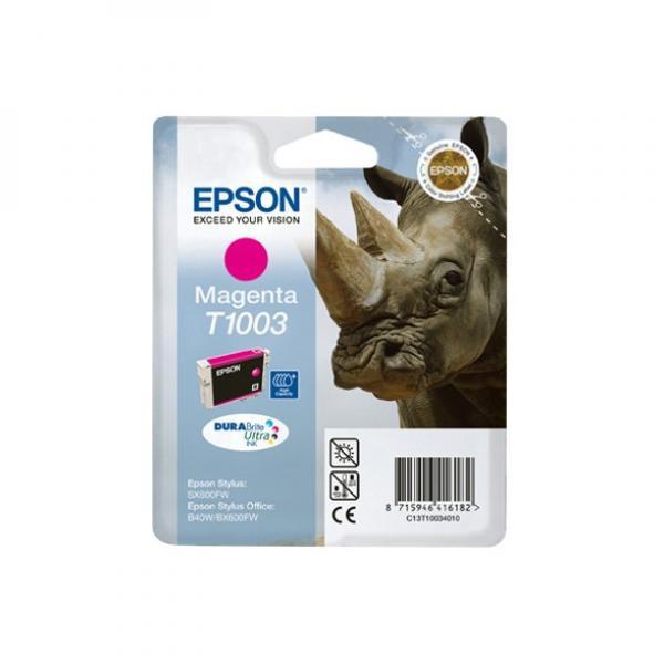 Epson originální ink C13T10034010, magenta, 11,1ml, Epson Stylus Office B40W, BX600FW