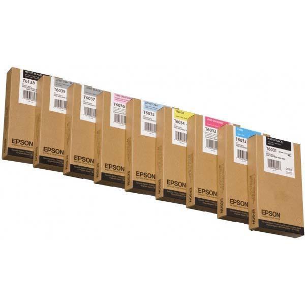 Epson originální ink C13T612800, matte black, 220ml, Epson Stylus Pro 7400, 7450, 7800, 7880, 9400, 9800, 988