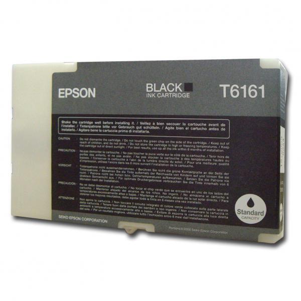 Epson originální ink C13T616100, black, 76ml, Epson Business Inkjet B300, B500DN