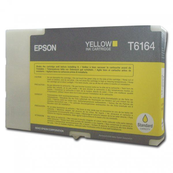Epson originální ink C13T616400, yellow, Epson Business Inkjet B300, B500DN