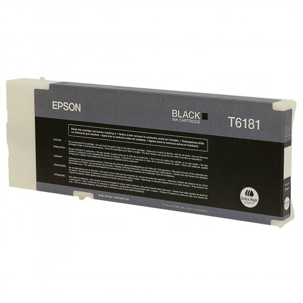 Epson originální ink C13T618100, black, 198ml, extra high capacity, Epson B500, B500DN