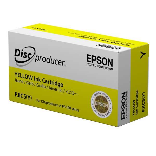 Epson originální ink C13S020451, yellow, PJIC5, Epson PP-100