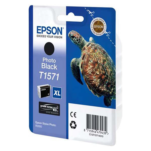 Epson originální ink C13T15724010, cyan, 25,9ml, Epson Stylus Photo R3000