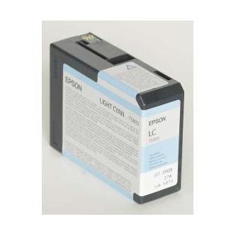 Epson originální ink C13T580500, light cyan, 80ml, Epson Stylus Pro 3800