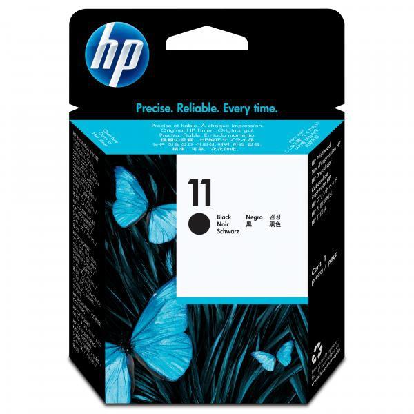 HP originální tisková hlava C4810A, No.11, black, 16000str., HP Business Inkjet 2xxx, DesignJet 100