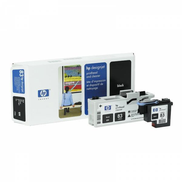 HP originální tisková hlava C4960A, No.83, black, HP DesignJet 5000, PS, UV, 5500, PS