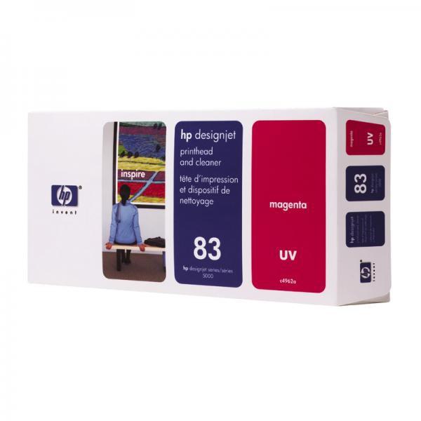 HP originální tisková hlava C4962A, No.83, magenta, HP DesignJet 5000, PS, UV, 5500, PS