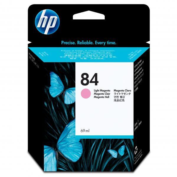 HP originální ink C5018A, No.84, light magenta, 69ml, HP DesignJet 10ps, 20ps, 50ps, 120