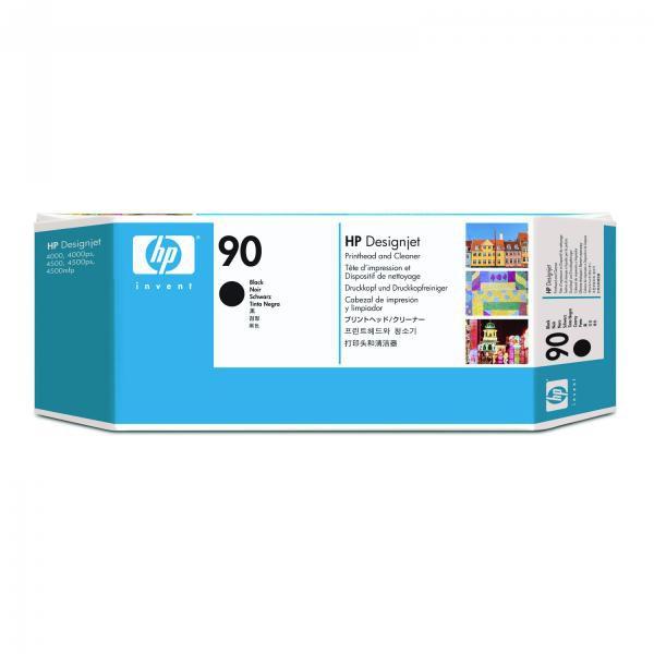HP originální tisková hlava C5054A, No.90, black, HP DesignJet 4000, 4000ps, 4500