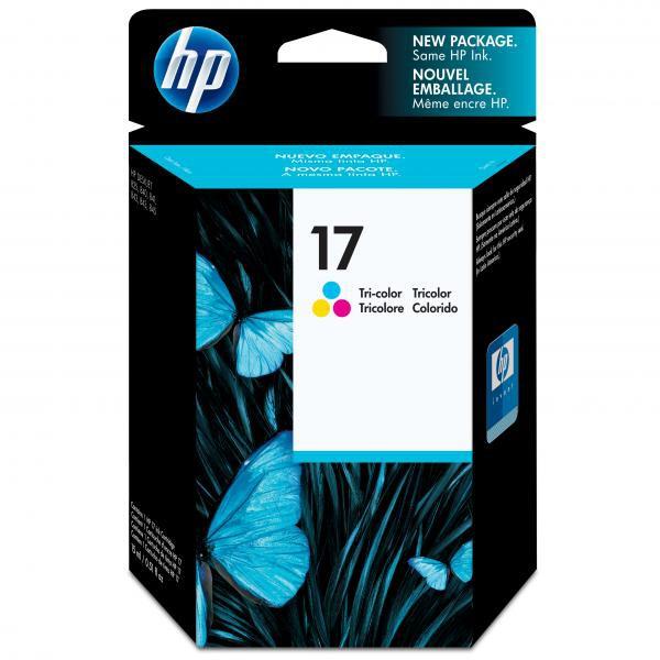 HP originální ink C6625AE, No.17, color, 430str., 15ml, HP DeskJet 840, 843c, 845c
