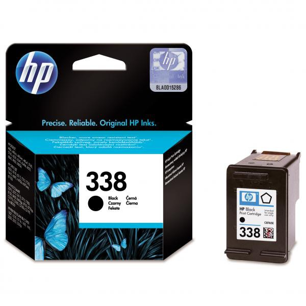 HP originální ink C8765EE, No.338, black, 450str., 11ml, HP Photosmart 8150, 8450, OJ-6210, DeskJet 5740