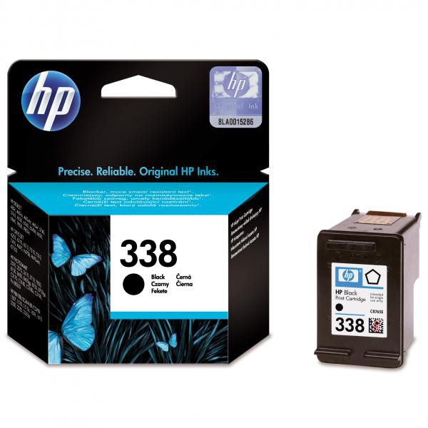 HP originální ink blistr, C8765EE#301, No.338, black, 450str., 11ml, HP Photosmart 8150, 8450, OJ-6210, DeskJet 5740