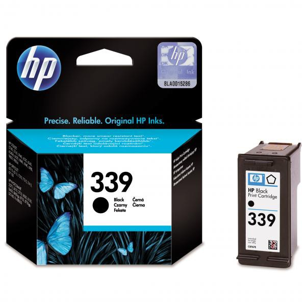 HP originální ink blistr, C8767EE#301, No.339, black, 800str., 21ml, HP Photosmart 8150, 8450, OJ-7410, DeskJet 5740