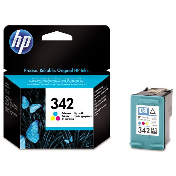 HP originální ink C9361EE, No.342, color, 175str., 5ml, HP Photosmart 2575, C3180, C4180, DJ-5440, OJ-6310
