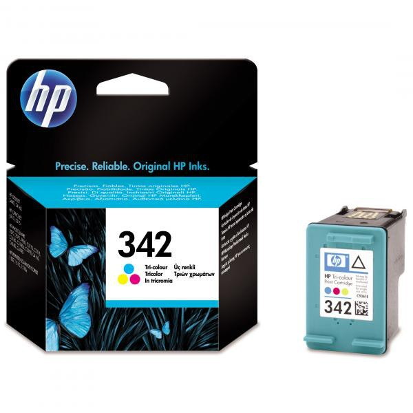HP originální ink blistr, C9361EE#301, No.342, color, 175str., 5ml, HP Photosmart 2575, C3180, C4180, DJ-5440, OJ-6310