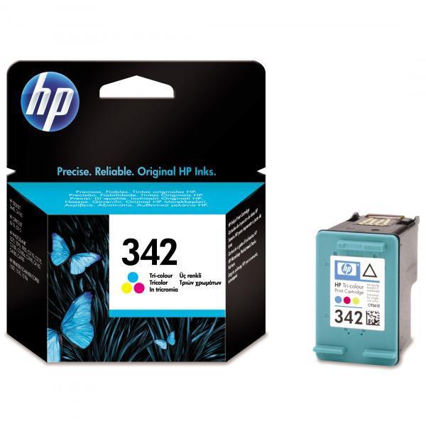 HP originální ink blistr, C9361EE#301, No.342, color, 175str., 5ml, HP Photosmart 2575, C3180, C4180, DJ-5440, OJ-6310