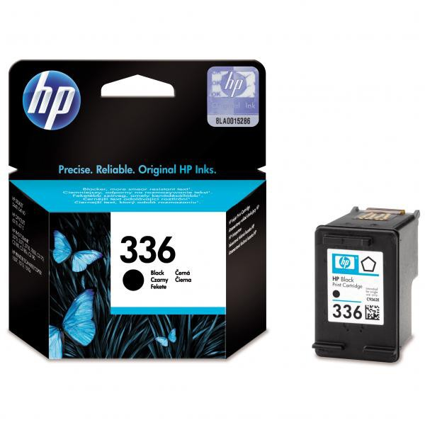 HP originální ink blistr, C9362EE#301, No.336, black, 210str., 5ml, HP Photosmart 325, 375, 8150, C3180, DJ-5740, 6540