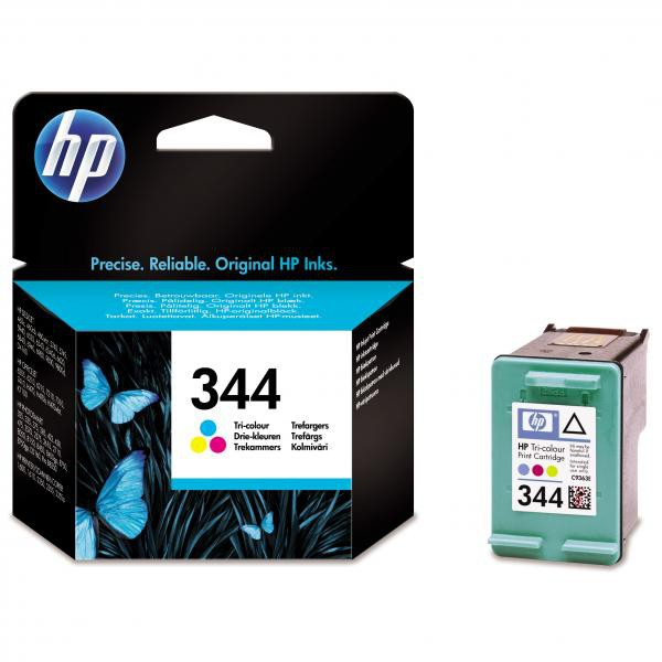 HP originální ink C9363EE, No.344, color, 580str., 14ml, HP Photosmart 385, 335, 8450, DJ-5940, 6840, 9800