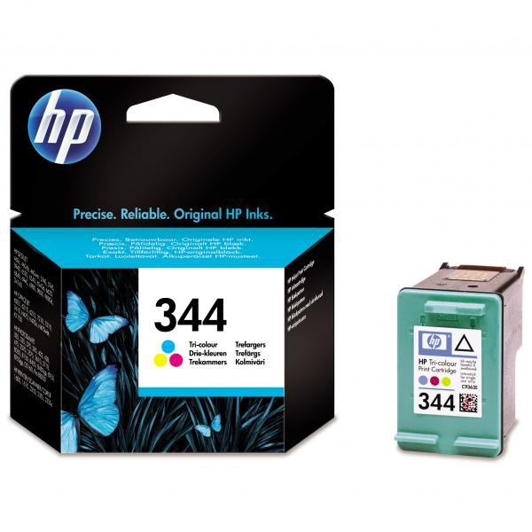 HP originální ink blistr, C9363EE#301, No.344, color, 580str., 14ml, HP Photosmart 385, 335, 8450, DJ-5940, 6840, 9800