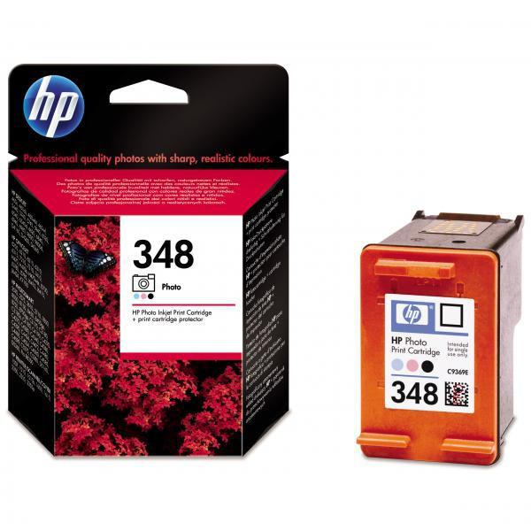 HP originální ink C9369EE, No.348, photo, 13ml, HP Photosmart 8150, 8450, DeskJet 5740, 6540