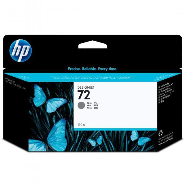 HP originální ink C9374A, No.72, grey, 130ml, HP Designjet T1100, T770