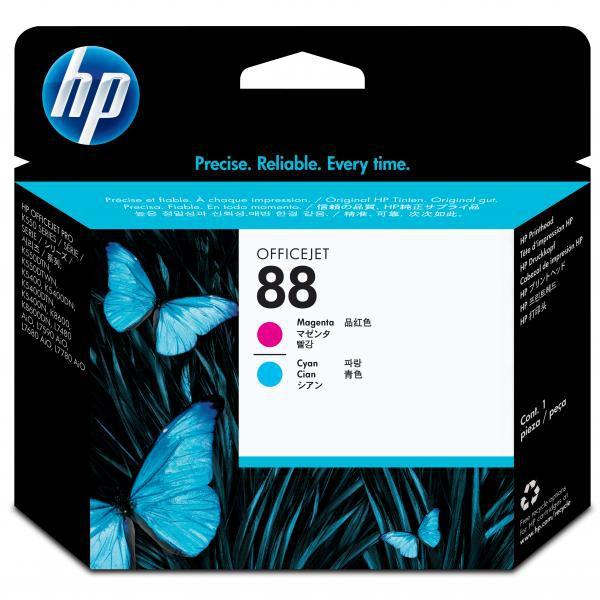 HP originální tisková hlava C9382A, No.88, magenta/cyan, HP OfficeJet K550, dtn, dtwn