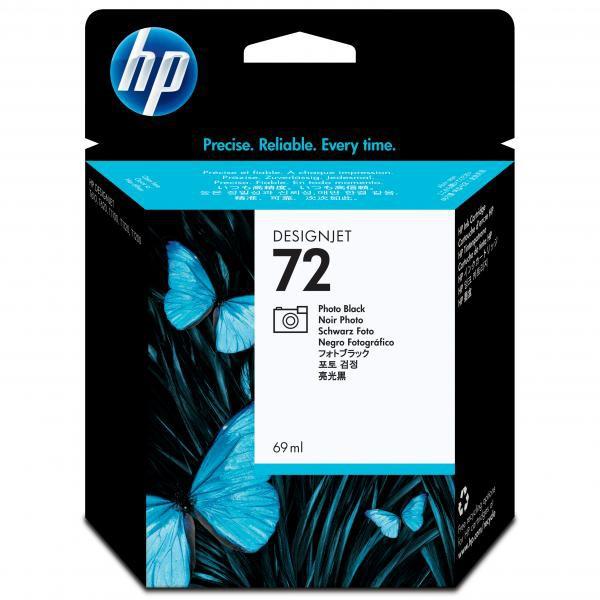 HP originální ink C9397A, No.72, photo black, 69ml, HP Designjet T1100, T770