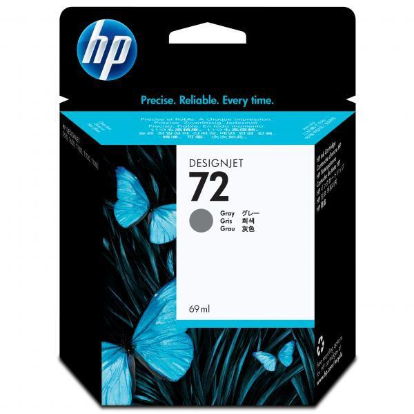 HP originální ink C9401A, No.72, grey, 69ml, HP Designjet T1100, T770