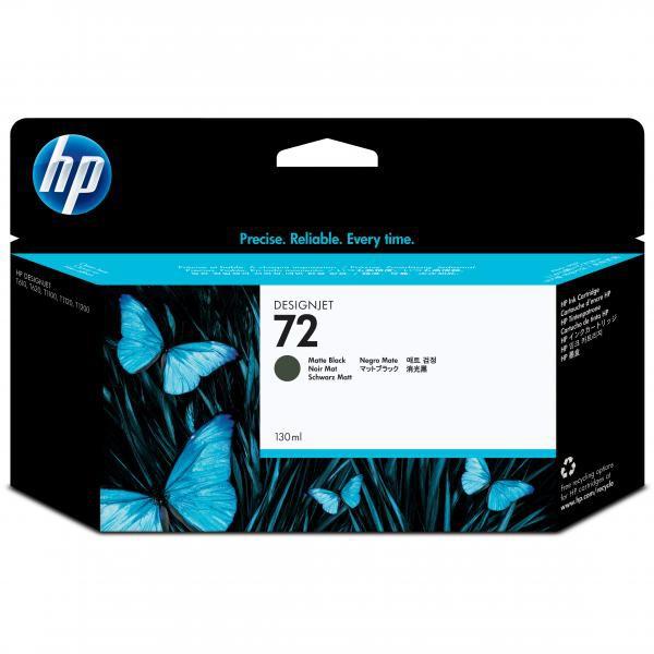 HP originální ink C9403A, No.72, matte black, 130ml, HP Designjet T1100, T770