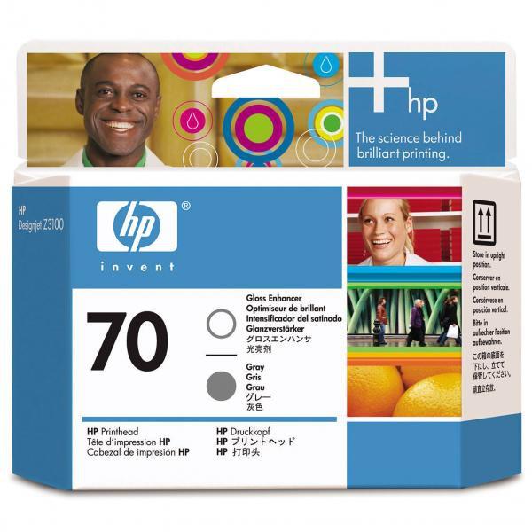 HP originální tisková hlava C9410A, No.70, grey, HP DesignJet Z3100