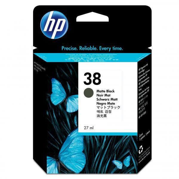 HP originální ink C9412A, No.38, matte black, HP Photosmart Pro B9180
